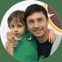 тато Валентин та син Іван 4,6 років