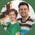 Маркіян 4,5 рочків та тато Олег
